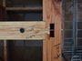 しっかりと刻んだ木材だから、綺麗に組み合わさります。