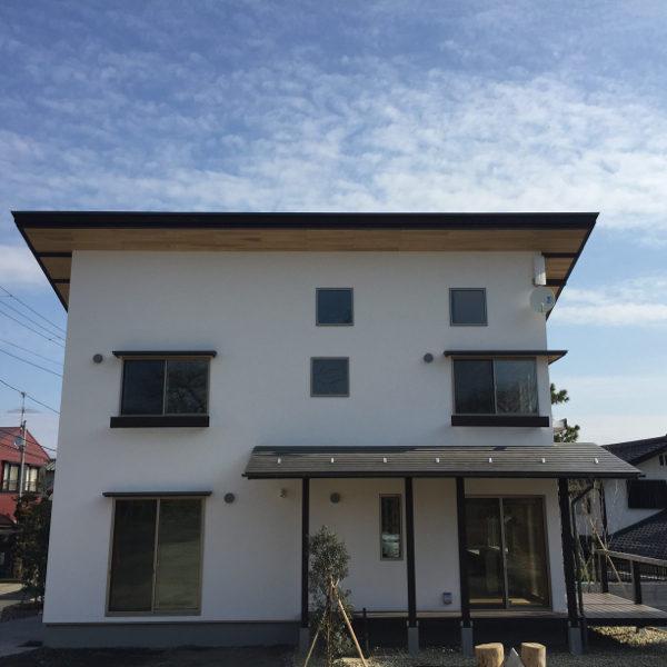 【見晴らしデッキのある家】(仙台市青葉区)