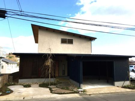 ガレージのある家(仙台市太白区)