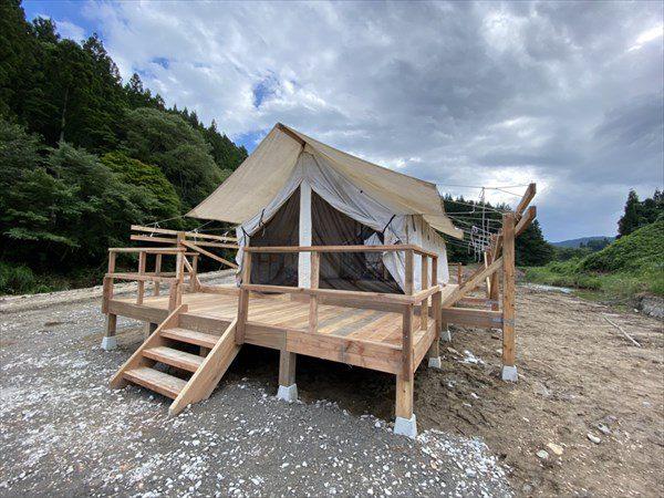 【エコラの森キャンプ場】(大崎市鳴子温泉)